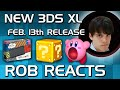 New Nintendo 3DS XL Reaction (Finally Confirmed Feb.13 North America) Amiibo, Specs, Features