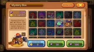 getlinkyoutube.com-Monster Squad. Ep.45. Biggest Mystery Box Run Ever (3k Gems)
