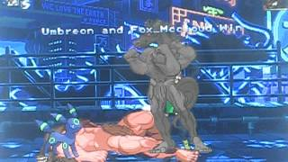 getlinkyoutube.com-HyperDragoonHx Mugen Fights 82: Fox Fury