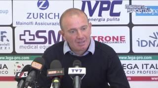 Presentato il nuovo allenatore del Benevento Daniele Cinelli