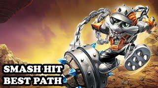 getlinkyoutube.com-Skylanders Superchargers - Smash Hit - Bolder Boulder Path - BEST PATH - GAMEPLAY