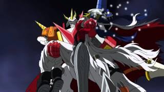 getlinkyoutube.com-Digimon Xros Wars - Baalmon evolves to Beelzebumon [HD]