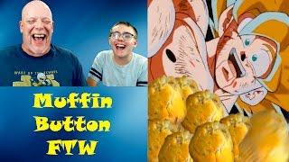 "getlinkyoutube.com-REACTION TIME | ""DBZ KAI Abridged Parody: Episode 2"" - Muffin Button FTW"