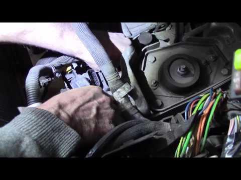 Расположение у Peugeot 605 цилиндра сцепления