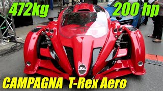 getlinkyoutube.com-2013 T-Rex Aero 3S by Anibal Automotive Design - Peel Paddock 2013 - Montreal Formula 1 Weekend