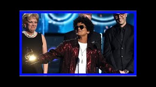 Six of the best for Bruno Mars at the 60th Grammy awards