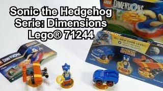 getlinkyoutube.com-Test LEGO Sonic the Hedgehog: Level Pack für Dimensions (Set 71244 Review deutsch)
