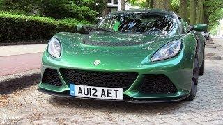 getlinkyoutube.com-2012 V6 Lotus Exige S : LOUD sounds!!