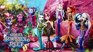 Monster High's Great Scarrier Reef Comes to Life in Set Form | Monster High