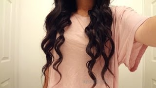 No Heat Loose Curls | Tutorial