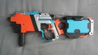 getlinkyoutube.com-NERF SMG [BORDERLANDS MALIWAN SUBMACHINE GUN]