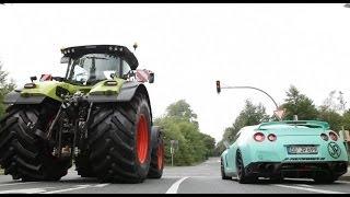 JPs Tractortaxi Episode 1 |  Claas Axion Taxi | Traktor Taxi | Tractor | AgrartechnikHD