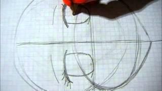 getlinkyoutube.com-Dibujar cara anime por pasos