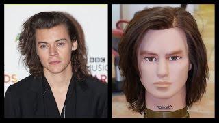 getlinkyoutube.com-Harry Styles NEW Haircut & Hairstyle Tutorial - TheSalonGuy