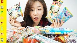 getlinkyoutube.com-일본 돈키호테 구매 포핀쿠킨 소개 영상 포핀쿠킨 가루쿡 리멘트 식완 미니어쳐 장난감 Introducing Japanese Popin Cookin