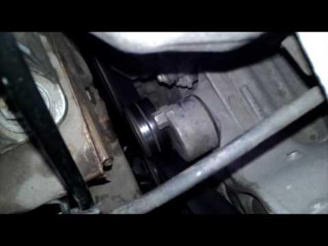 Свистит шелестит ролик натяжителя ремня генератора на Renault Duster 2.0 F4R