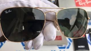 Xship.vn: Ray-Ban RB3136 181 55 Caravan Green Classic G-15 55 mm Sunglasses width=