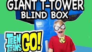 "getlinkyoutube.com-GIANT ""Teen Titans Go Blind Box"" Teen Titans Go! SURPRISE TOYS by EpicToyChannel"
