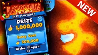 getlinkyoutube.com-Bloons TD Battles WORLD EXCLUSIVE! NEW BOSS MAP BLASTAPOPOULOS INFERNO - 1,000,000 MEDALLION ARENA!