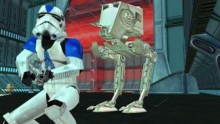 getlinkyoutube.com-Star Wars Battlefront 2 Mods - Dark Times II - mod - Balmorra Outpost - Empire Gameplay