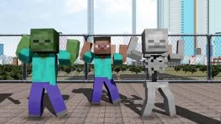 getlinkyoutube.com-【MMD】あったかいんだから【Minecraft】