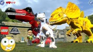 getlinkyoutube.com-LEGO Jurassic World  Como Personalizar dinossauros (Mudar DNA) - Dublado PT-BR
