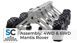 getlinkyoutube.com-Actobotics® Mantis™ Rover Assembly Video