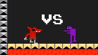 getlinkyoutube.com-FNAF Foxy's Adventure - Revenge to Purple Guy? Fan made