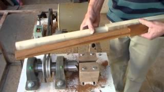 Maquina p\ arredondar madeiras até 40 m\m