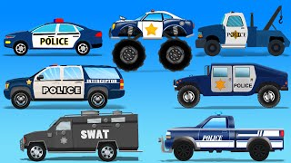 getlinkyoutube.com-Street Vehicles | Police Cars | Toy Cars For Kids
