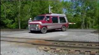 getlinkyoutube.com-Fried Boxcar Bearing at Carneys Crossing---Now What??  Part One