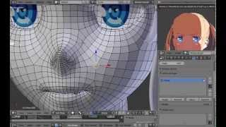 getlinkyoutube.com-Rigging Faces in Blender (Shapekeys and Drivers) [Tutorial]