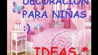 getlinkyoutube.com-IDEAS PARA DECORAR UN DORMITORIO DE NIÑAS