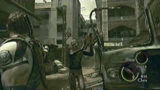 getlinkyoutube.com-Resident Evil 5: Weapons Walkthrough: Hydra Shotgun
