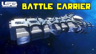 getlinkyoutube.com-Space Engineers - Leviathan Battle Carrier