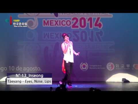 [Centro Cultural Coreano]140810 K-POP World festival en México