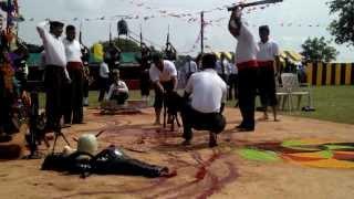 getlinkyoutube.com-2 kumaon (lucknow) Kali maata pooja(bali)