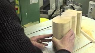 getlinkyoutube.com-Bandsawing Wood for Wood Carving or Sculpture  - Ian Norbury