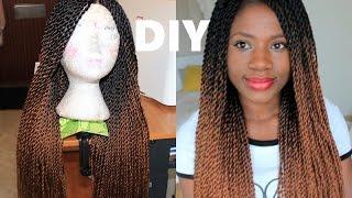 getlinkyoutube.com-How to: Crochet Twists Wig / EASY METHOD