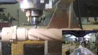 getlinkyoutube.com-Vectric Barley Twist Tutorial