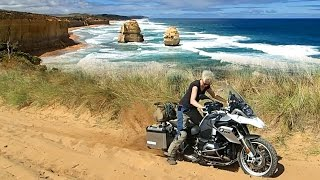 getlinkyoutube.com-Great Ocean Road Adventure Riding - BMW R 1200 GS