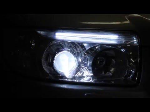 Улучшение света Subaru Forester II - bi-xenon Hella intemo