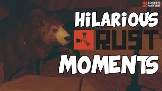 Hilarious Rust Moments #1 - RUST CO-OP Survival