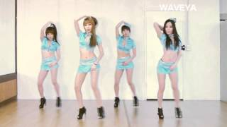 getlinkyoutube.com-T-ARA 티아라 NUMBER NINE 넘버나인 cover dance WAVEYA 웨이브야 korea dance team