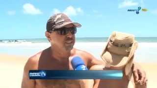 getlinkyoutube.com-Danielle Fonseca Repórter Rede TV Praia Nudismo