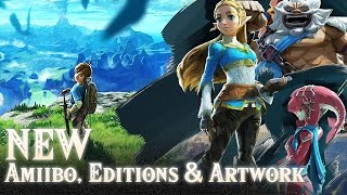 getlinkyoutube.com-NEW Zelda: Breath of the Wild Amiibo, Special Edition, Master Edition & Artwork