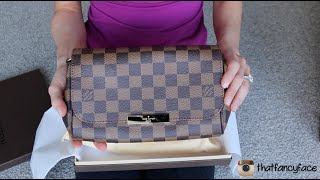 getlinkyoutube.com-Louis Vuitton Favorite Damier Ebene Unboxing!