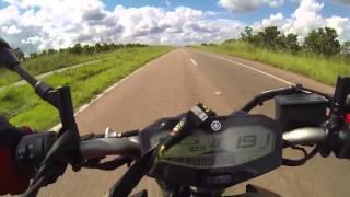 getlinkyoutube.com-Yamaha MT07 Top Speed
