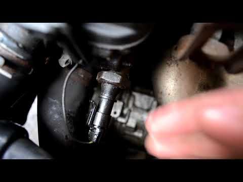 Замена датчика давления масла Opel Corsa D 1.4
