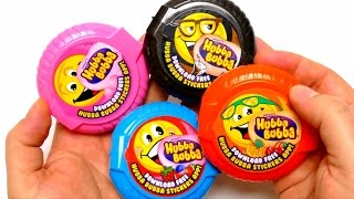 getlinkyoutube.com-Hubba Bubba Tape Rolls - Chewing Bubble Roll Gum Unboxing
